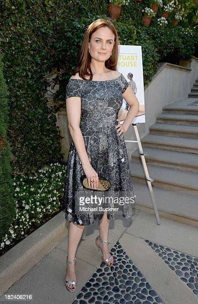 Actress Emily Deschanel attends The Rape Foundations Annual Brunch at Greenacres on September 29 2013 in Beverly Hills California