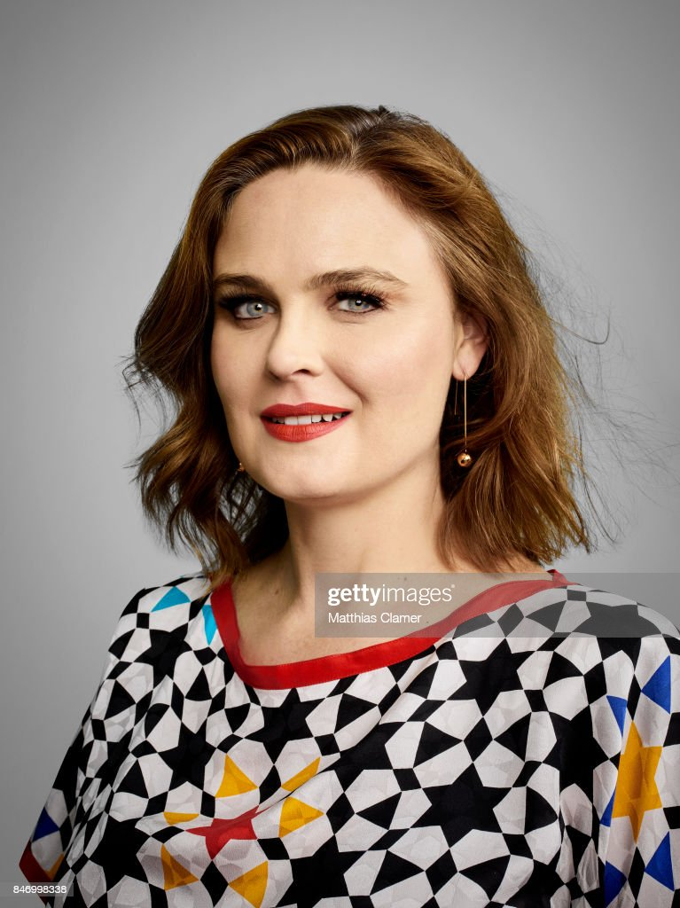 Actress Emily Deschanel from 'Bones' is photographed for Entertainment Weekly Magazine on July 22, 2016 at Comic Con in the Hard Rock Hotel in San Diego, California.
