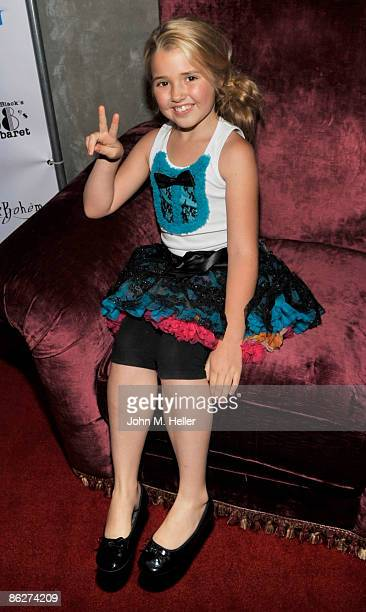 Actress Emily Grace Reeves attends a benefit for the Gibson Girl Foundation benefiting Deborah Gibson's Electric Youth Summer Camp in Los Angeles at...