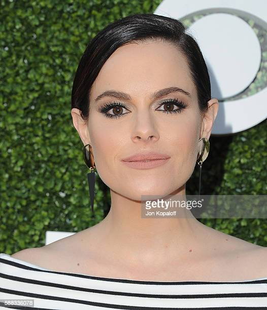 Actress Emily Hampshire arrives at CBS CW Showtime Summer TCA Party at Pacific Design Center on August 10 2016 in West Hollywood California