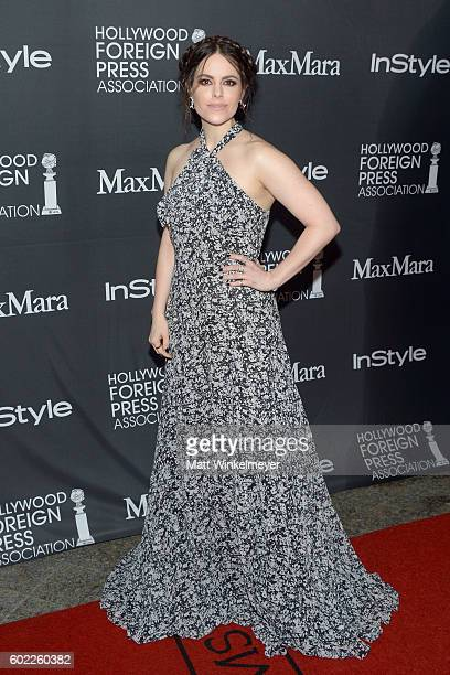 Actress Emily Hampshire attends the TIFF/InStyle/HFPA Party during the 2016 Toronto International Film Festival at Windsor Arms Hotel on September 10...