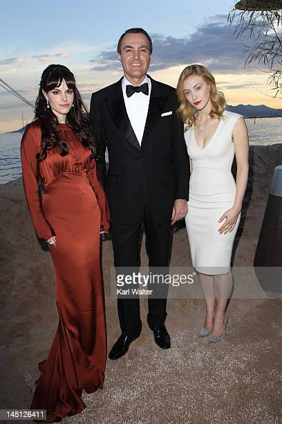 Actress Emily Hampshire President and CEO of Birks JeanChristophe Bedos and Sarah Gadon attend Telefilm Canada's Tribute To Canadian Talent Presents...