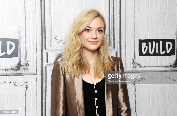 Actress Emily Kinney attends Build to discuss 'Ten Days In The Valley' at Build Studio on October 12 2017 in New York City