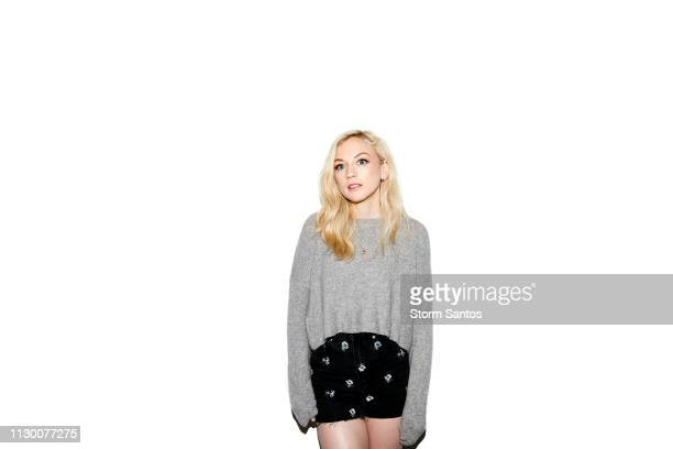 Actress Emily Kinney is photographed on June 5 2018 in Los Angeles California