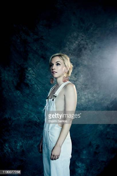 Actress Emily Kinney is photographed on November 13 2018 in Los Angeles California