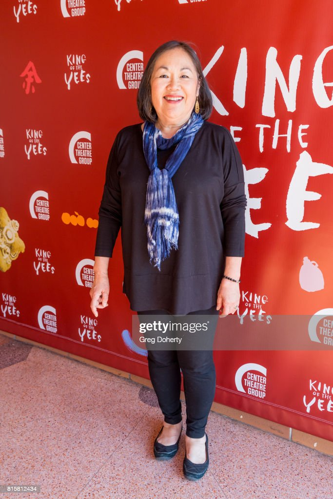 Actress Emily Kuroda attends the opening night of 'King Of The Yees' at the Kirk Douglas Theatre on July 16, 2017 in Culver City, California.