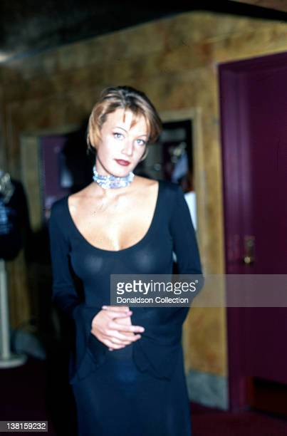 Actress Emily Lloyd attends an event in 1992 in Los Angeles California