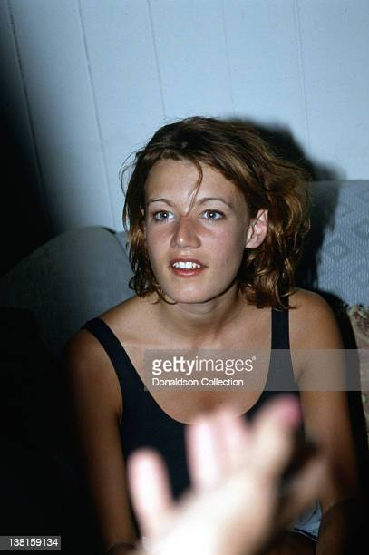 Actress Emily Lloyd relaxes in 1992 in Los Angeles California