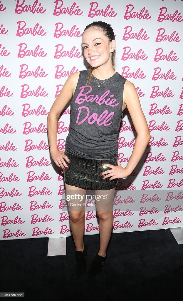 Actress Emily Meade attends Barbie And CFDA Event on September 5, 2014 in New York City.