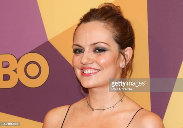 Actress Emily Meade attends HBO's official Golden Globe Awards after party at The Circa 55 Restaurant on January 7 2018 in Los Angeles California
