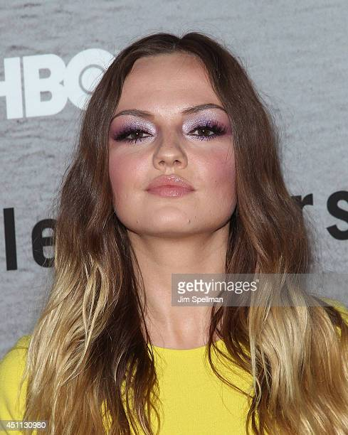"""Actress Emily Meade attends """"The Leftovers"""" premiere at NYU Skirball Center on June 23, 2014 in New York City."""