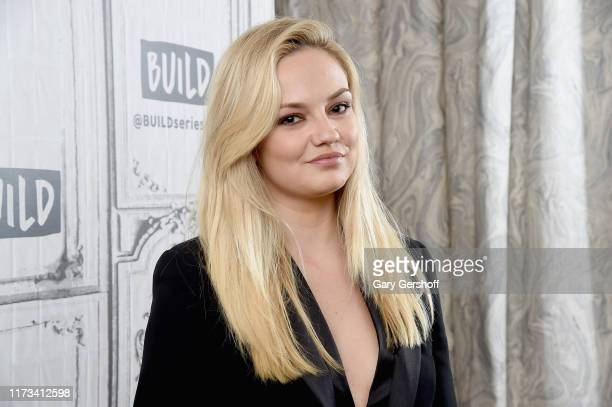 """Actress Emily Meade visits the Build Series to discuss the HBO series """"The Deuce"""" at Build Studio on September 09, 2019 in New York City."""