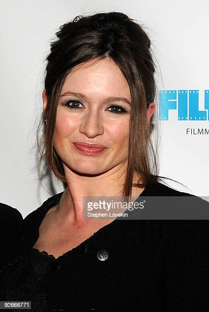 Actress Emily Mortimer attends a screening of The Red Shoes at the Directors Guild of America Theater on November 3 2009 in New York City