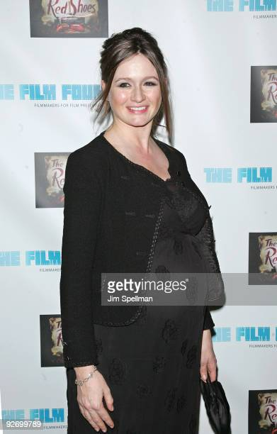 """Actress Emily Mortimer attends a screening of """"The Red Shoes"""" at the Directors Guild of America Theater on November 3, 2009 in New York City."""