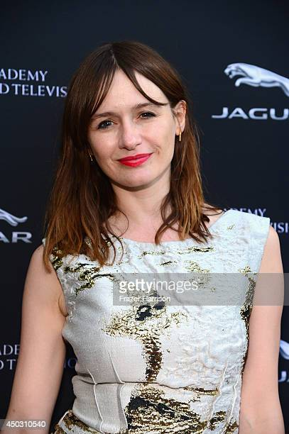 Actress Emily Mortimer attends BFTA LA Garden Party at British Consul Generals Residence on June 8 2014 in Los Angeles California