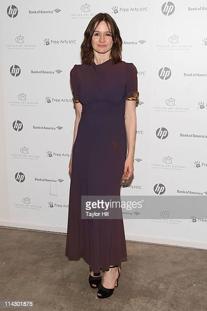 Actress Emily Mortimer attends Free Arts NYC's 12th annual Art Auction benefit at Chelsea Art Museum on May 17, 2011 in New York City.