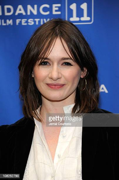 Actress Emily Mortimer attends My Idiot Brother Premiere at the Eccles Center Theatre during the 2011 Sundance Film Festival on January 22 2011 in...