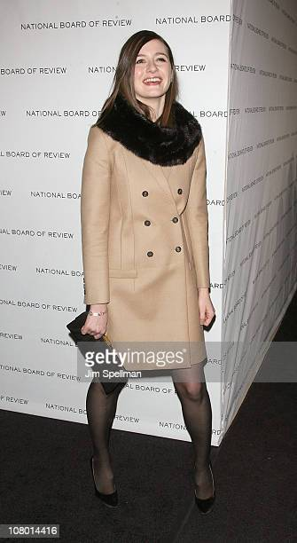 Actress Emily Mortimer attends the 2011 National Board of Review of Motion Pictures Gala at Cipriani 42nd Street on January 11, 2011 in New York City.