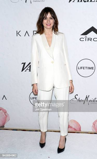Actress Emily Mortimer attends the 2018 Variety's Power of Women New York at Cipriani Wall Street on April 13 2018 in New York City