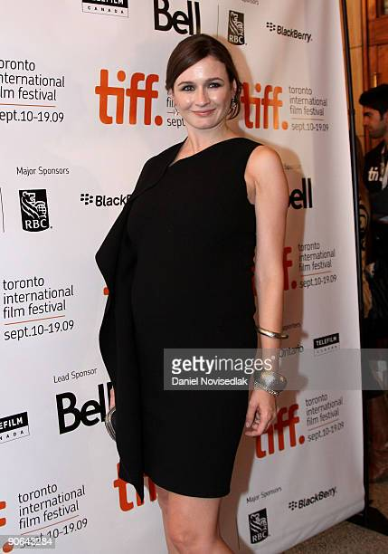 Actress Emily Mortimer attends the Harry Brown Premiere held at on The Visa Screening Room at the Elgin Theatre during the 2009 Toronto International...