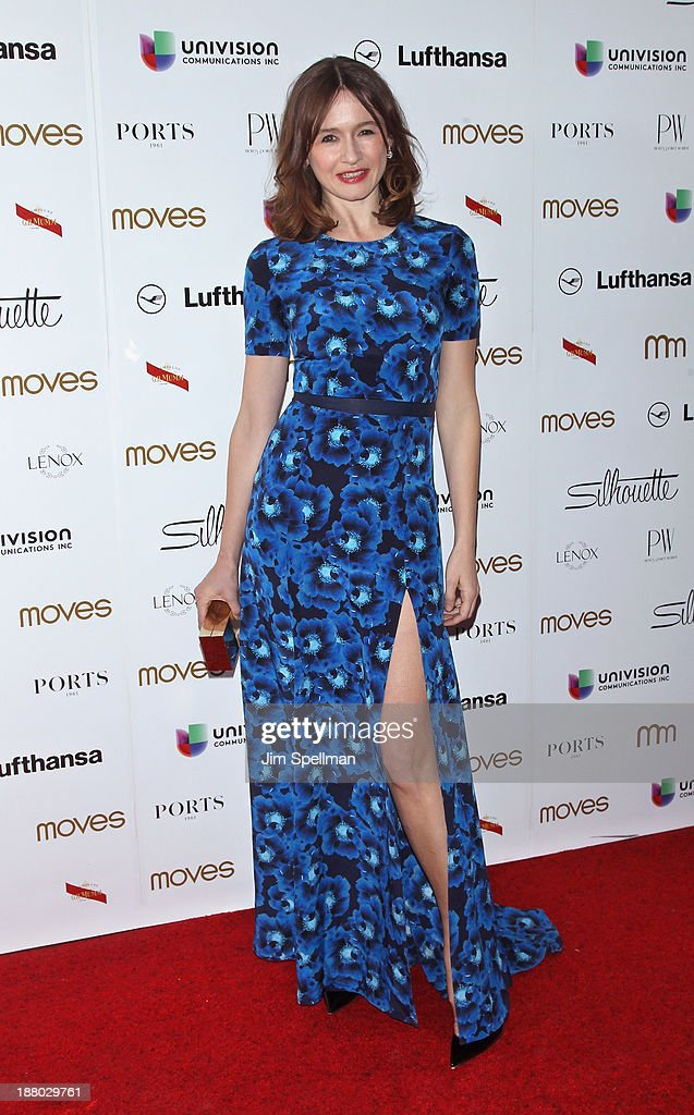 Actress Emily Mortimer attends the New York Moves Magazine's 10th Anniversary Power Women Gala at the Grand Hyatt New York on November 14, 2013 in New York City.