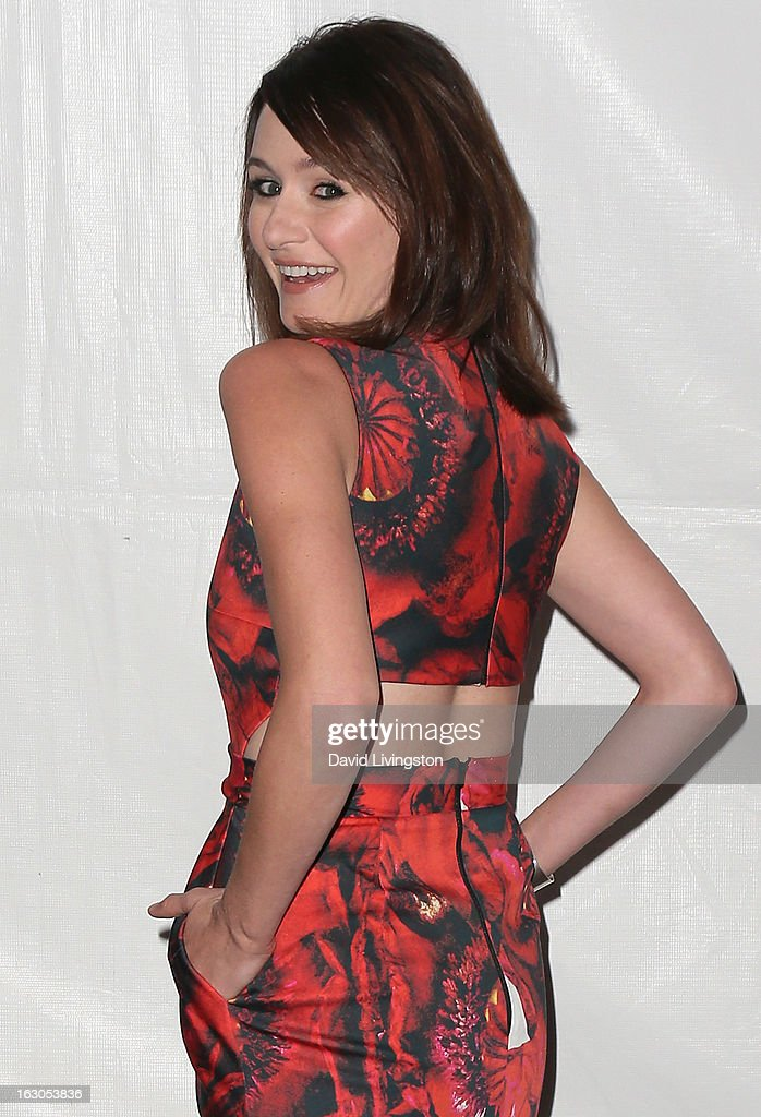 Actress Emily Mortimer attends The Paley Center For Media's PaleyFest 2013 honoring 'The Newsroom' at the Saban Theatre on March 3, 2013 in Beverly Hills, California.