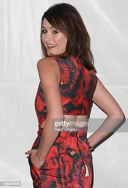 Actress Emily Mortimer attends The Paley Center For Media's PaleyFest 2013 honoring The Newsroom at the Saban Theatre on March 3 2013 in Beverly...