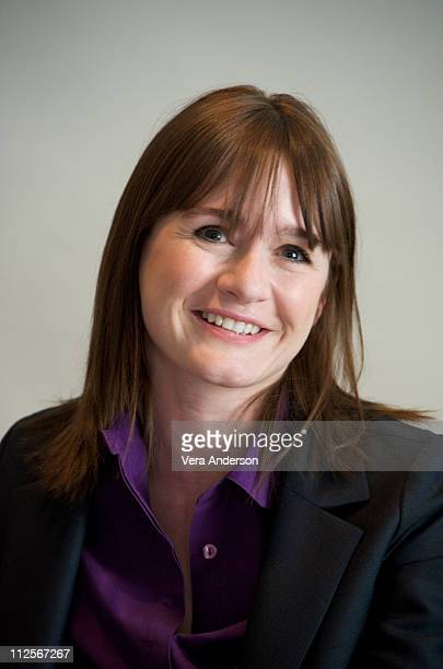 Actress Emily Mortimer attends the Redbelt press conference at the Four Seasons Hotel on April 8 2008 in Beverly Hills California