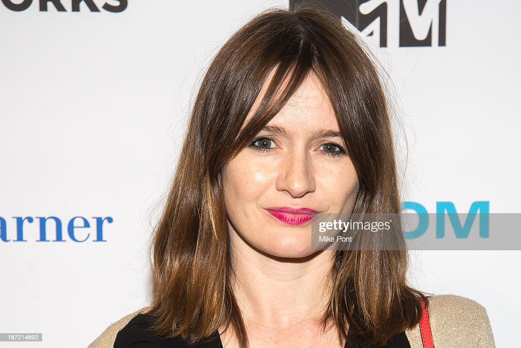 Actress Emily Mortimer attends the REEL WORKS 2013 benefit gala at The Edison Ballroom on November 6, 2013 in New York City.