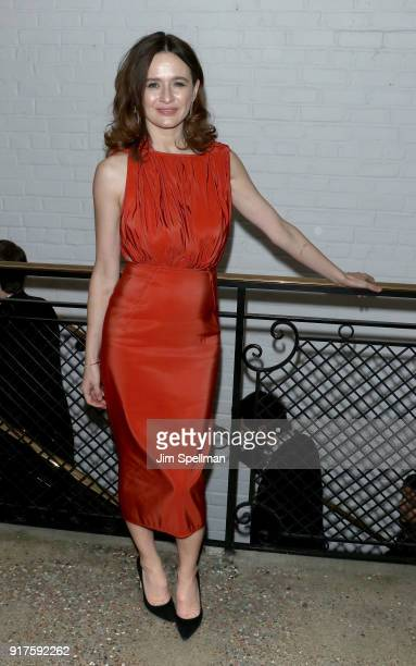 Actress Emily Mortimer attends the screening after party for 'The Party hosted by Roadside Attractions and Great Point Media with The Cinema Society...
