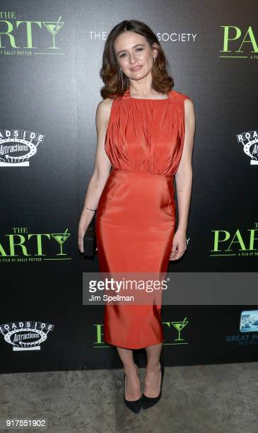 Actress Emily Mortimer attends the screening of The Party hosted by Roadside Attractions and Great Point Media with The Cinema Society at Metrograph...