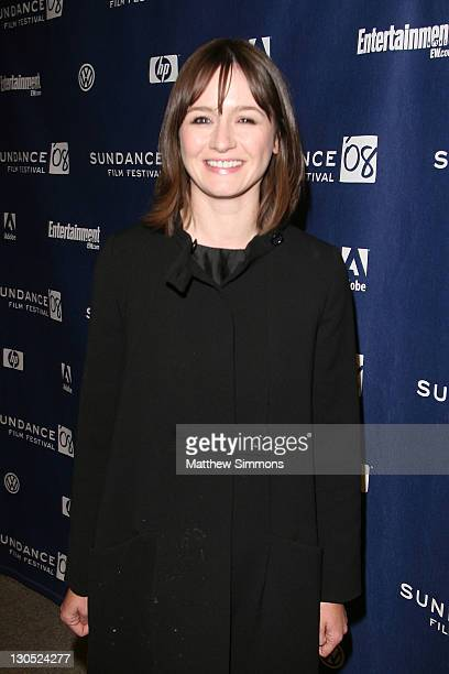 Actress Emily Mortimer attends the Transsiberian premiere during the 2008 Sundance Film Festival at the Eccles Theatre on January 18 2008 in Park...