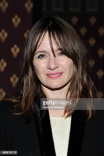 Actress Emily Mortimer atttends the Doll Em Wrap Party at The Leonora on December 17 2014 in New York City