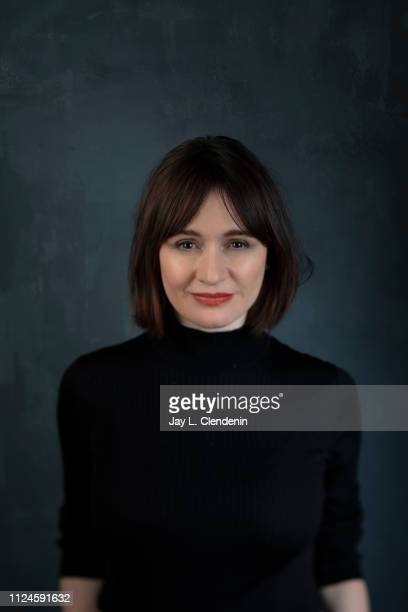 """Actress Emily Mortimer, from """"One Cambodian Family Please For My Pleasure' is photographed for Los Angeles Times on January 25, 2019 at the 2019..."""