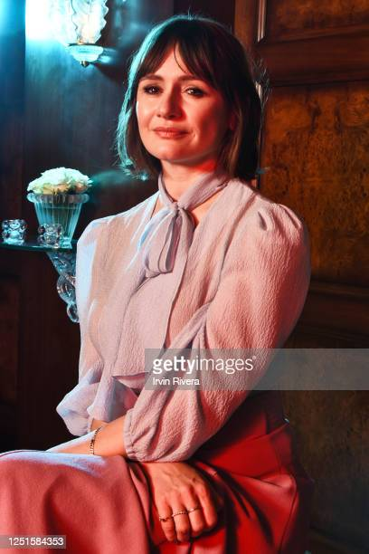 Actress Emily Mortimer is photographed for The Wrap on November 27, 2018 in Los Angeles, California.