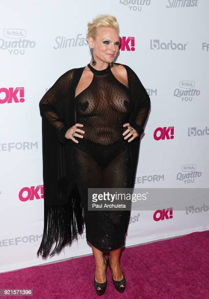 Actress Emily Moses attends OK Magazine's Summer kickoff party at The W Hollywood on May 17 2017 in Hollywood California