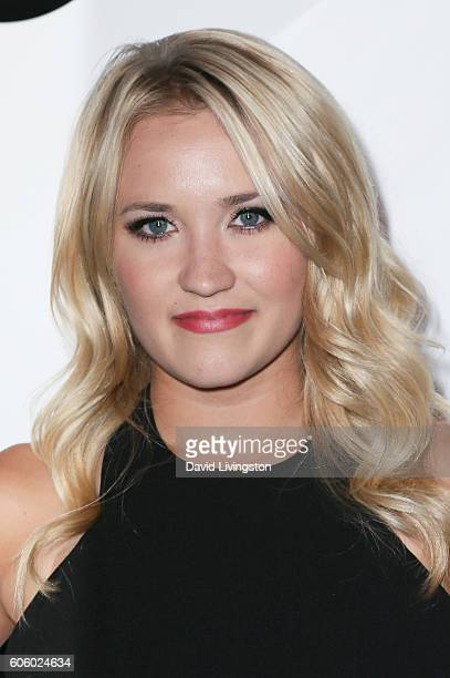 Actress Emily Osment arrives at Audi Celebrates The 68th Emmys at Catch on September 15 2016 in West Hollywood California