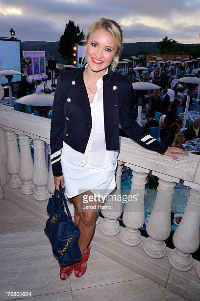 Actress Emily Osment attends the 6th annual Oceana's SeaChange summer party on August 18 2013 in Laguna Beach California