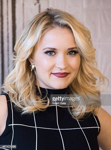 Actress Emily Osment attends the AOL Build Speaker Series at AOL Studios on March 24 2015 in New York City