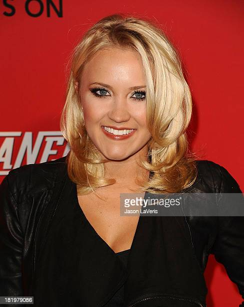 Actress Emily Osment attends the Cleaners digital series premiere at Cary Grant Theater on September 26 2013 in Culver City California