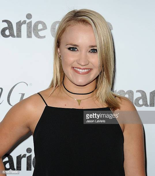 Actress Emily Osment attends the Marie Claire Fresh Faces party at Sunset Tower Hotel on April 11 2016 in West Hollywood California