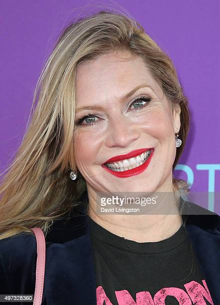 Actress Emily Procter attends Express Yourself 2015 presented by PS ARTS at Barker Hangar on November 15 2015 in Santa Monica California