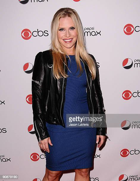 Actress Emily Procter attends the CBS new season premiere party at MyHouse Nightclub on September 16 2009 in Hollywood California
