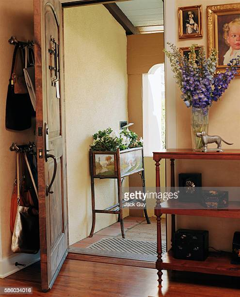 Actress Emily Procter's home is photographed for InStyle Magazine in 2003 in Los Angeles California