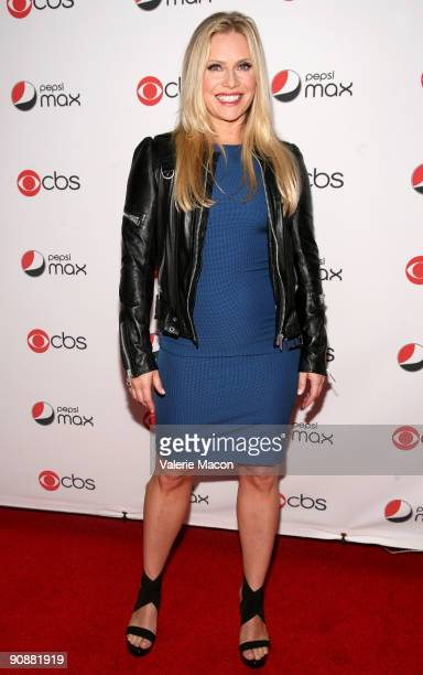 Actress Emily Proctor arrives at the CBS' New Season Celebration on September 16 2009 in Los Angeles California