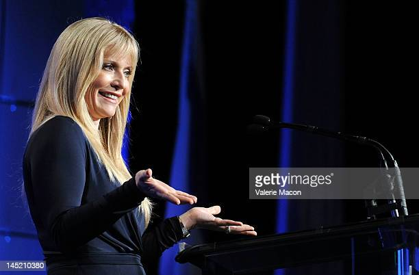 Actress Emily Proctor attends at the Simon Wiesenthal Center's Annual National Tribute Dinner Honoring Jerry Bruckheimer at The Beverly Hilton Hotel...