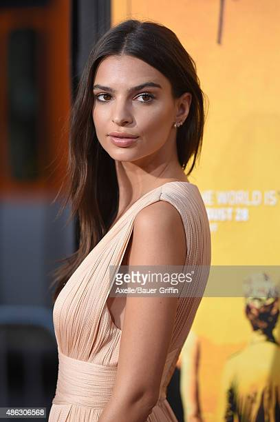 Actress Emily Ratajkowski arrives at the premiere of Warner Bros. Pictures' 'We Are Your Friends' at TCL Chinese Theatre on August 20, 2015 in...
