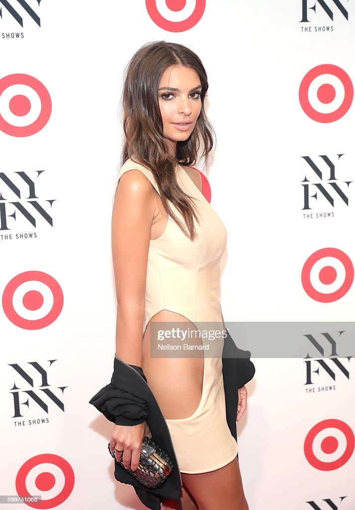 Actress Emily Ratajkowski attends Target + IMG New York Fashion Week Kick-Off Event at The Park at Moynihan Station on Tuesday, September 6, 2016 in New York City.
