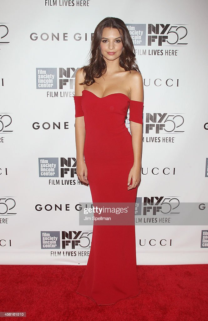 Actress Emily Ratajkowski attends the 52nd New York Film Festival Opening Night Gala Presentation and World Premiere Of 'Gone Girl' at Alice Tully Hall on September 26, 2014 in New York City.
