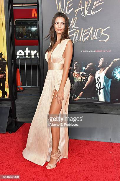 Actress Emily Ratajkowski attends the premiere of Warner Bros Pictures' We Are Your Friends at TCL Chinese Theatre on August 20 2015 in Hollywood...